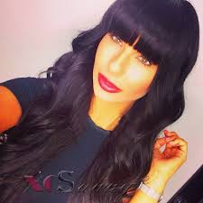 body wave hair with bangs 78 best human hair crochet lace wigs images on pinterest human