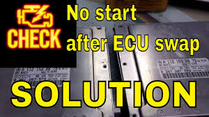 how to mercedes immobilizer programing after ecu swap youtube