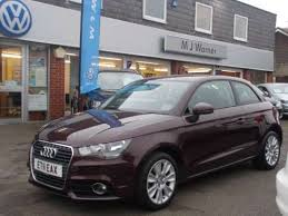 used audi ai for sale used 2011 11 reg shiraz metallic audi a1 1 4 tfsi sport 3dr