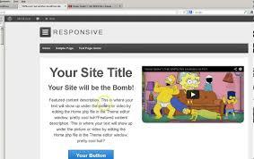responsive wordpress theme editing home page widgets 1 2 and 3 w