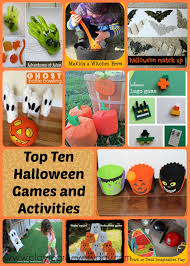 top ten halloween games and activities play and learn every day