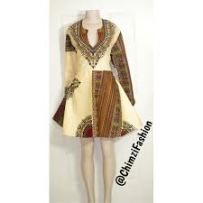 short dashiki dress sd160001 chimzi fashion house