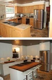 transformation cuisine une cuisine rénovée du beau avec de l ancien cuisine kitchens