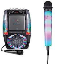 light up karaoke machine singing machine sml605bk agua karaoke machine with extra light up