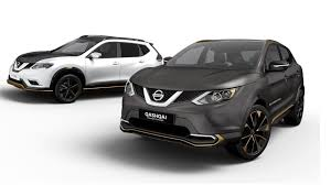 nissan customizes qashqai x trail with premium concepts intended