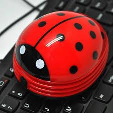 Ladybug Desk Accessories Best New Animal Electric Mini Ladybug Vacuum Cleaner