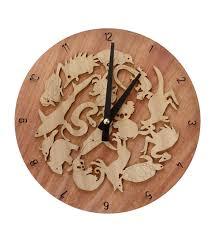 Www Handmade Au - clock wooden australian animals handmade in australia