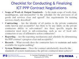 5 negotiating ppp contracts u0026 financing ppp projects in ict ppt