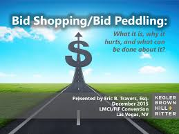 bid 4 it bid shopping bid peddling what it is why it hurts and what can b