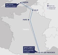 Tgv Map France by City Breaks Category Railbookers
