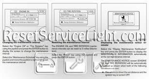 2005 nissan altima oil light reset reset oil service light nissan maxima reset service light reset