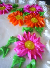 Easy Icing Flowers - making icing flowers