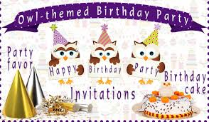 10 awesome owl themed birthday party ideas that u0027ll blow your mind