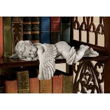 amazon com design toscano sleepy time baby angel statue in stone