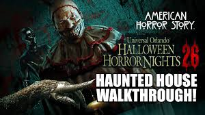universal orlando halloween horror nights review american horror story haunted house walkthrough halloween horror