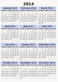 yearly calendar 2014 printable calendar 2014 blank calendar