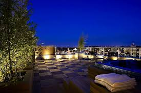 Outside Landscape Lighting - decorations gorgeous rooftop terrace design with outdoor lights