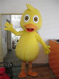 Baby Duck Halloween Costume Aliexpress Buy Yellow Duck Mascot Costume Halloween Costumes
