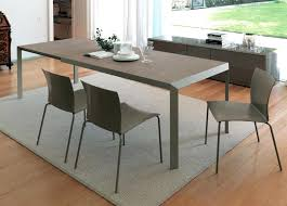 Dining Table Black Glass Expandable Dining Table Set U2013 Thelt Co