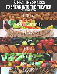 http tipsalud com 8 healthy snacks to sneak into the theather