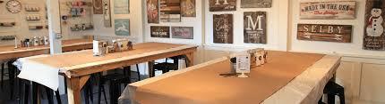 diy wood sign workshop board and brush nashville tn