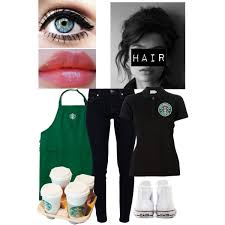 starbucks uniform