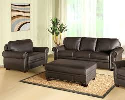 austin top grain leather sectional with ottoman abbyson living sofa set bellavista ab 55ci d210 brn 3 1 4