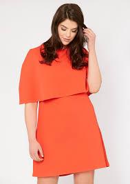 shift dress plus size sally cape shift dress