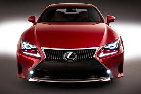 new lexus rc 200t styling size up 2015 lexus rc motor trend wot