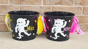 personalized halloween candy bucket jane