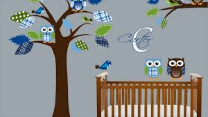 Boy Nursery Wall Decal Baby Boy Nursery Wall Decals