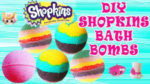 diy shopkins bath bombs how to make bath bombs easy tutorial craft