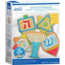 hanukkah cookie cutters hanukkah paint a cookie kit crafty cooking kits