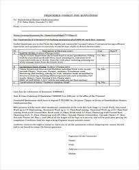 sample job material quotation list for dirt cheap construction