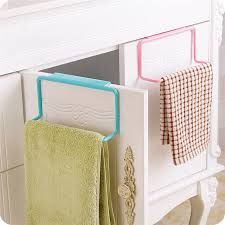 New Towel Rack Hanging Holder Organizer Bathroom Kitchen Cabinet - Kitchen cabinet towel rack