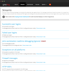 graylog open source log management