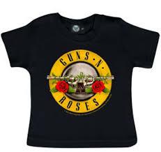 guns and roses baby t shirt logo