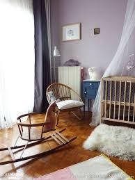 rocking chair chambre bébé chambre bébé vert poussin côté maison