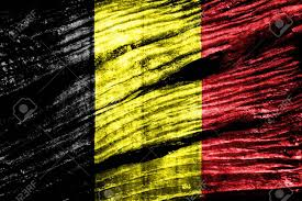 Belgia Flag Belgium Flag On Old Wood Texture Stock Photo Picture And Royalty