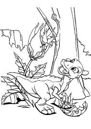 download land characters colouring pages