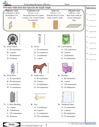 measuring units worksheet measurement worksheets
