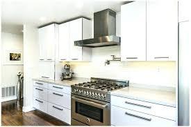 High Gloss White Kitchen Cabinets Gloss White Kitchen Cabinets Get A White Glossy Kitchen With