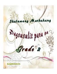 k to 12 grade 2 ikalawang markahang pagsusulit filipino pinterest