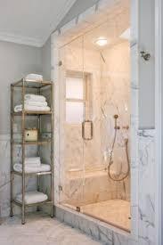 Master Bath Shower Master Bath Carrera Marble 3x12 Herringbone Floor 12x12 Wall