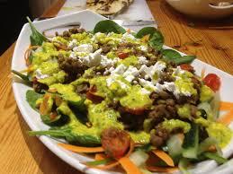 two peas u0026 the dog food chicken tikka lentil spinach u0026 naan salad