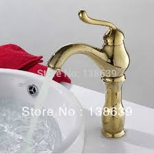 Gold Bathroom Faucet by Online Buy Wholesale Gold Bathroom Faucets From China Gold