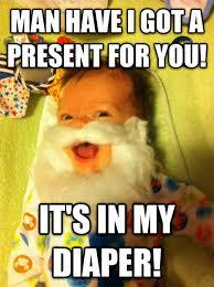 Baby Diaper Meme - santa baby the meta picture