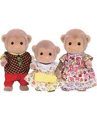 Calico Critters Bathroom Set Savings On Calico Critters Cc1489 Mango Monkey Family Doll Set