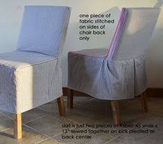 Diy Dining Room Chair Covers by Diy Tutorial Diy Dining Chair Slipcovers Diy Sew A Parsons
