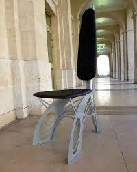 chaise nouveau chaise design de style nouveau en métal et cuir dit la chaise